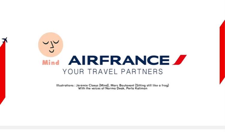 Air France lança programa de meditação a bordo