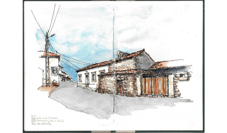 Portugal na rota dos Urban Sketchers internacionais
