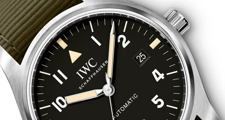 308a4935681 A IWC Schaffhausen acaba de lançar uma edição especial do relógio Pilot  Mark XVIII que apresenta o design original do histórico Pilot Mark 11.