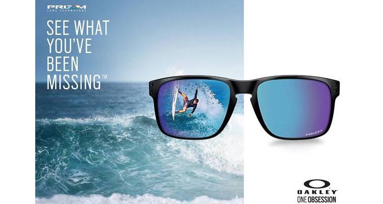 OAKLEY lança a coleção Sapphire Fade com a tecnologia de lentes PRIZM 9075be702d