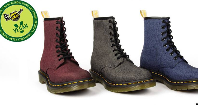 Dr. Martens apresenta Vegan Collection
