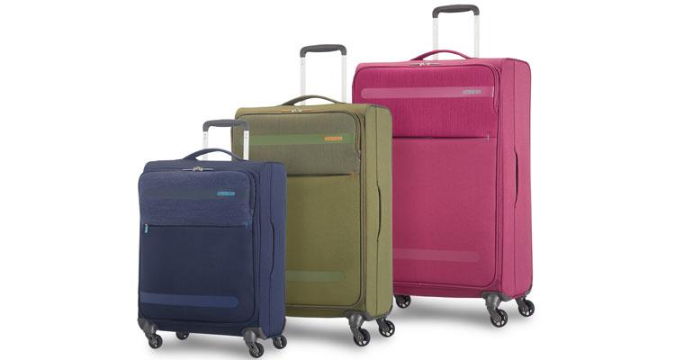 American Tourister lança a coleção de malas de tecido mais leve de sempre