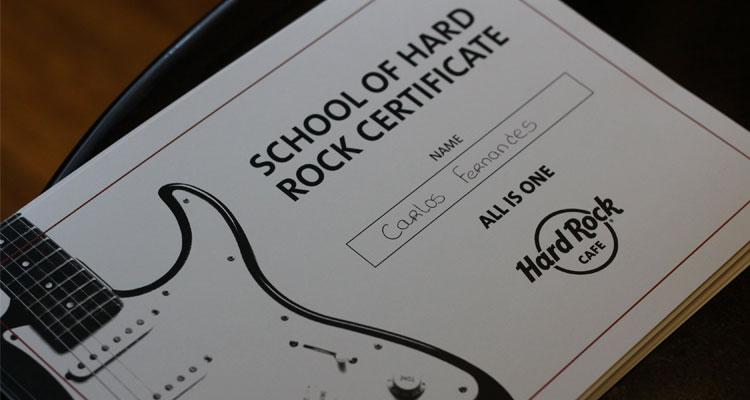 Hard Rock Cafe Lisboa tem novo projeto para escolas