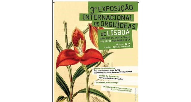 Lisboa recebe a 3ª edição da Exposição Internacional de Orquídeas