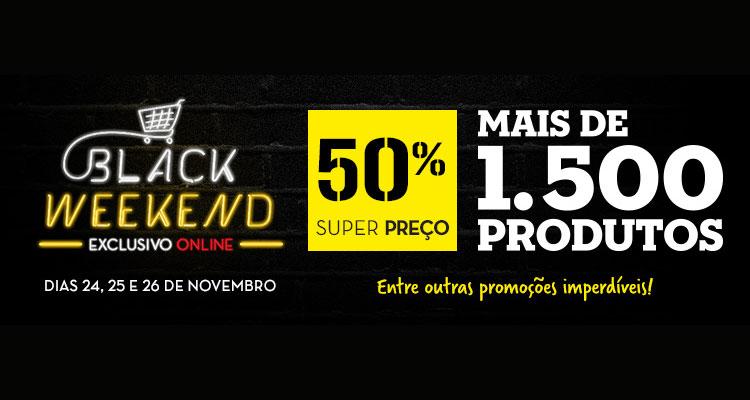 Continente online celebra Black Weekend com desconto de 50%
