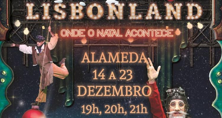 Fonte Luminosa da Alameda revela o segredo do Pai Natal