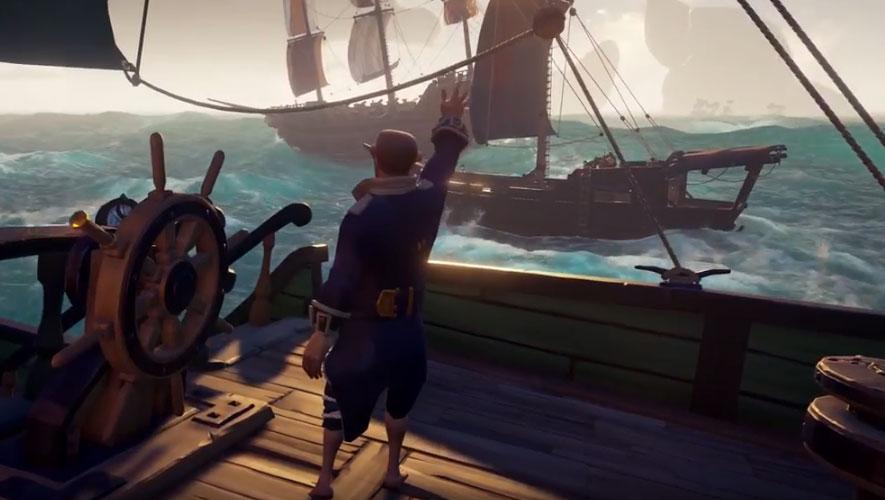Microsoft libera game Sea of Thieves