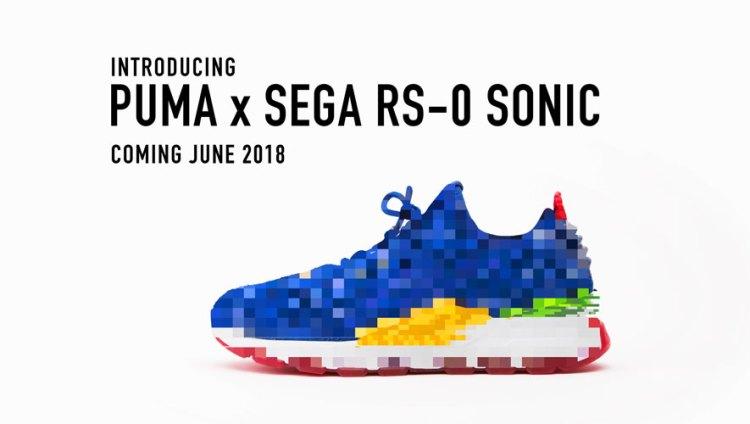 c26a99ccd3 PUMA e SEGA anunciam parceria