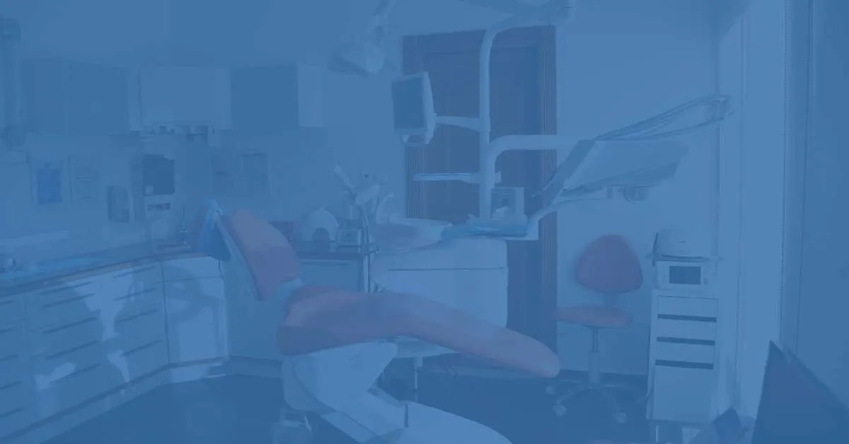 dental chair with other equipment's