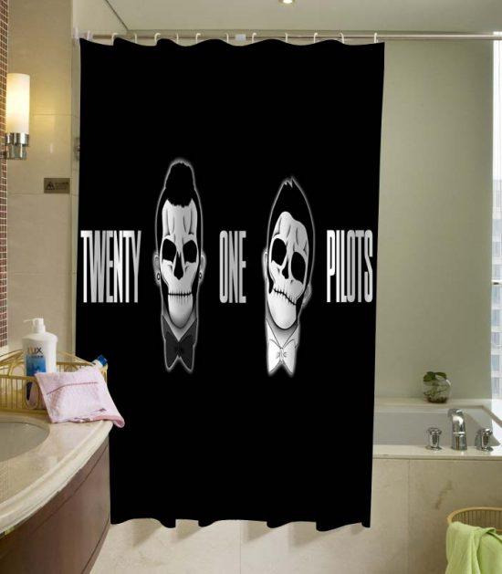 bathroom funny shower curtain