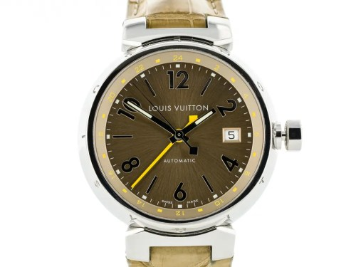 Preowned Louis Vuitton Tambour watch