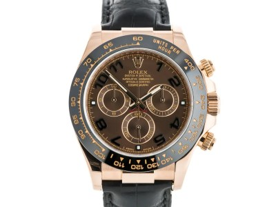 Rolex Daytona Everose Gold Strap Watch