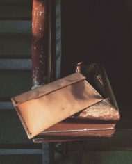 modern basic leather wallet