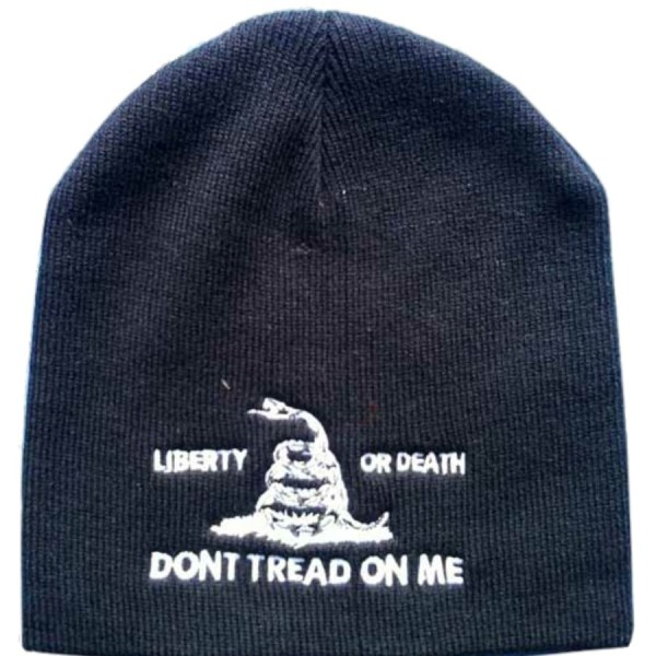 "Culpepper Minute Men ""Liberty or Death"" ""Don't Tread on Me"" Beanie"