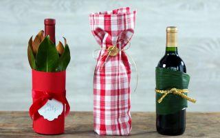 Как оригинально упаковать бутылку в подарок – 13 необычных ...