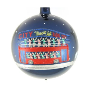 Rockettes Bus Ornament