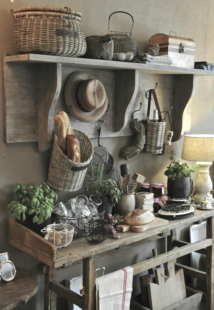 8 Beautiful Rustic Country Farmhouse Decor Ideas ... on Farmhouse Decorating Ideas  id=32493