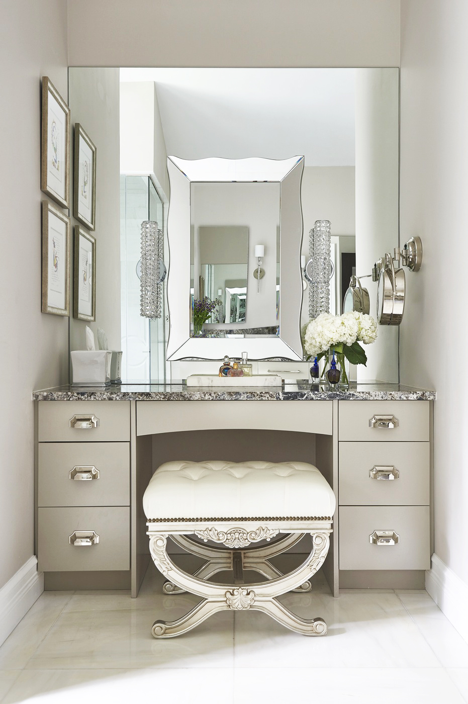 Impeccable Style - Get The Designer Look In Your Home With ... on Makeup Room Ideas  id=21985