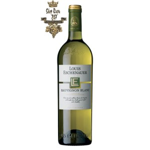 Rượu Vang Pháp Louis Eschenauer Bordeaux trắng khi nhìn có màu vàng rơm cùng ánh xanh. Hương thơm của các loại quả