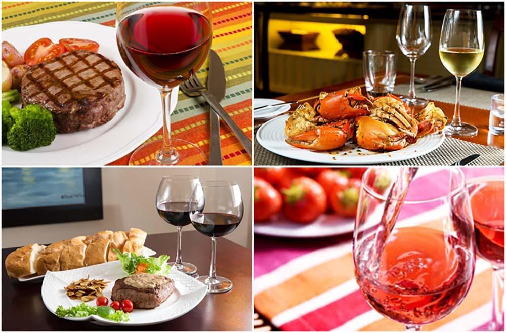 3 nguyên tắc cơ bản phối hợp rượu vang cùng thực đơn hoàn hảo
