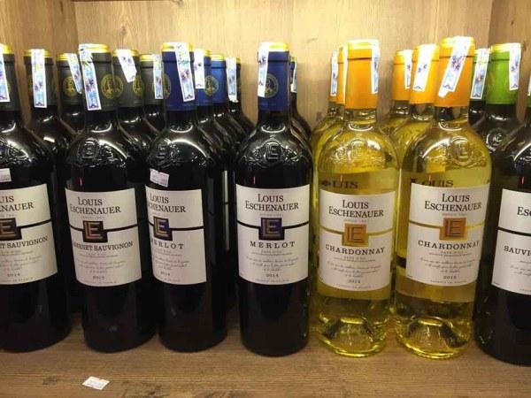Rượu vang Pháp giá rẻLouis Eschenauer