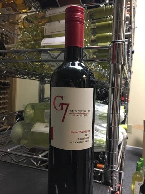 Bán rượu vang g7 cabernet sauvignon tại Bà Rịa - Vũng Tàu giá tốt nhất