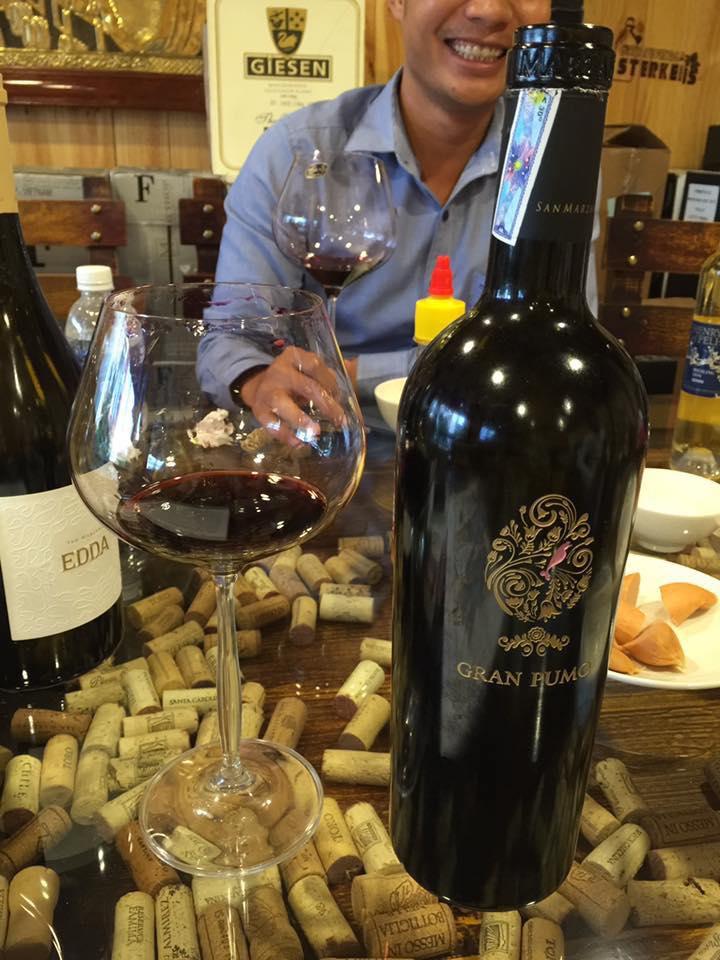 Bán rượu vang Ý Gran pumo tại Hạ Long giá Tốt