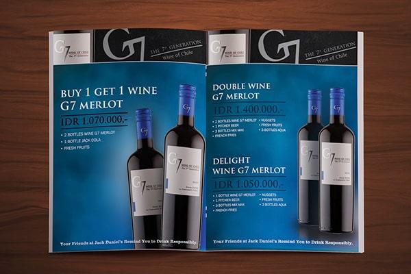 Nhà cung cấp rượu vang g7 merlot tại Phú Quốc giá tốt nhất