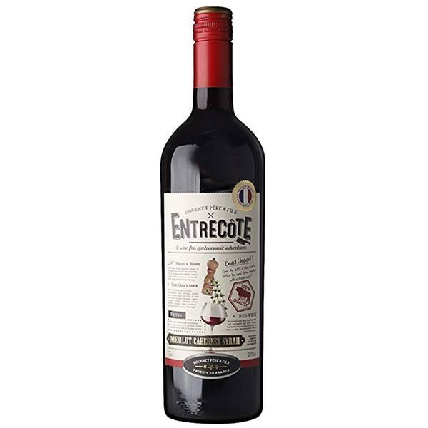 Bán rượu Vang Pháp Entrecote Melot Cabernet Syrah tại Kon Tum ưu đãi nhất