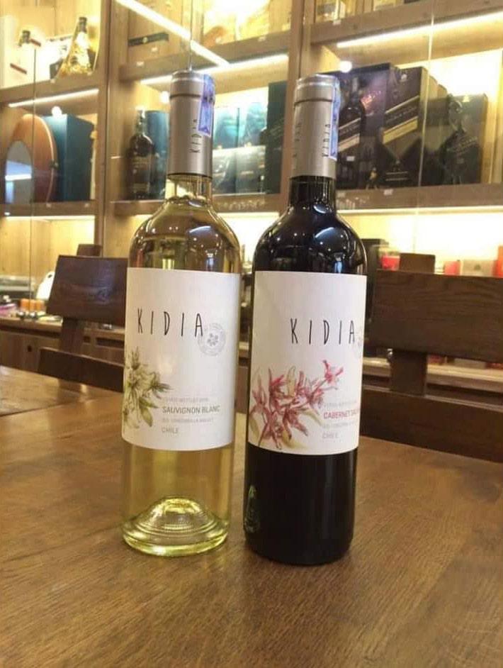 Rượu vang chile kidia sauvignon blanc tại Quảng Ninh giá tốt