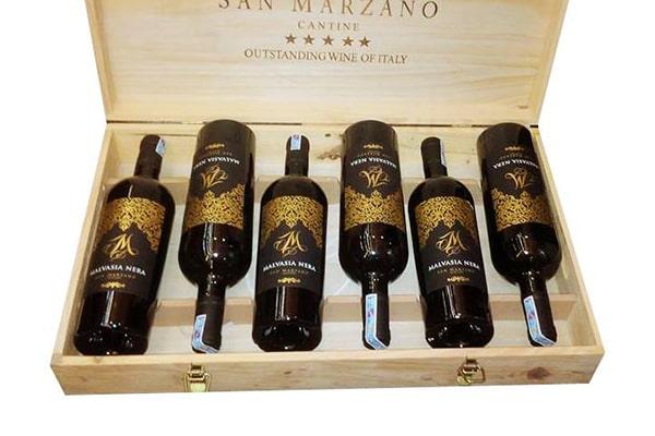 Nhập khẩu rượu vang m malvasia nera tại Uông Bí giá tốt nhất