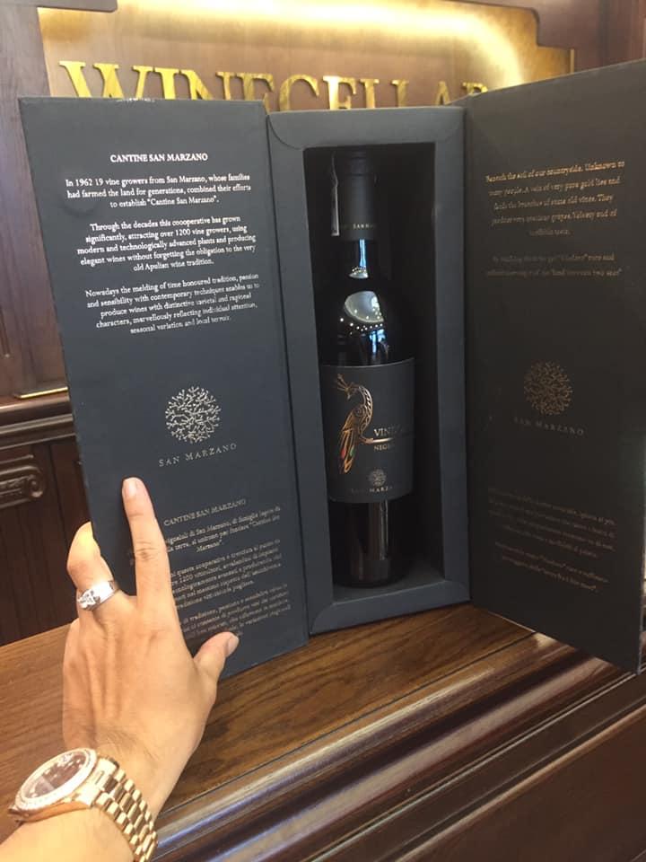Bán rượu vang vindoro negroamaro tại Hạ Long giá tốt nhất