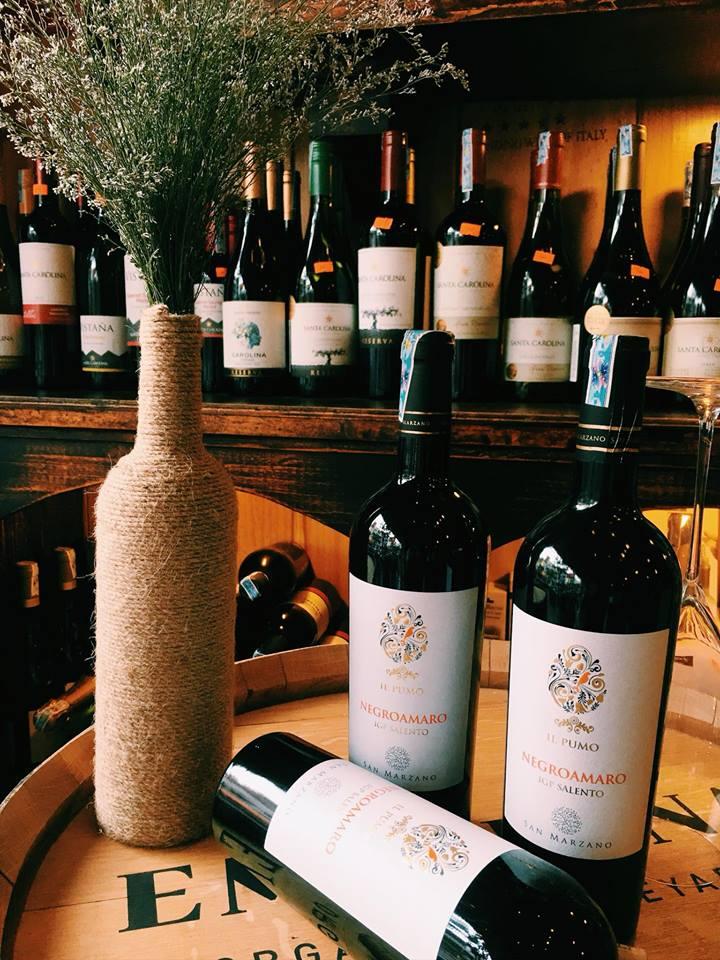 Bán rượu vang ý IL Pumo Negroamaro tại Uông Bí giá tốt nhất