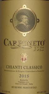 Rượu vang Carpineto Chianti Classico Sangiovese - Canaiolo