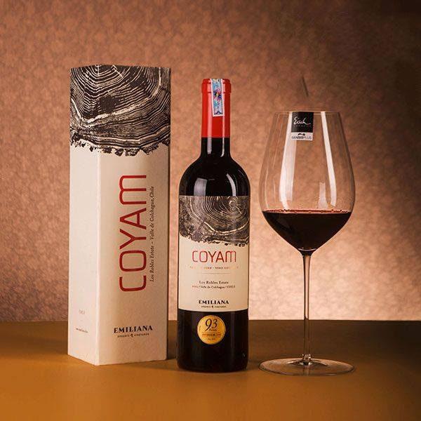 Phân phối rượu vang Chile Emiliana Coyam tại Vũng Tàu giá tốt nhất