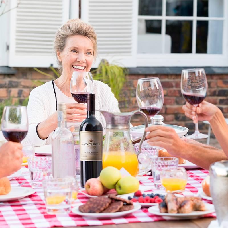 Bán rượu vang Santa Carolina Reserva Cabernet Sauvignon tại Bắc Ninh giá tốt