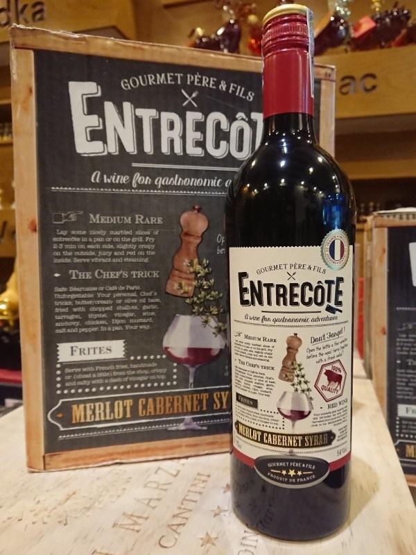 Nhà cung cấp rượu vang Entrecote Melot Cabernet Syrah tại Hải Phòng giá rẻ