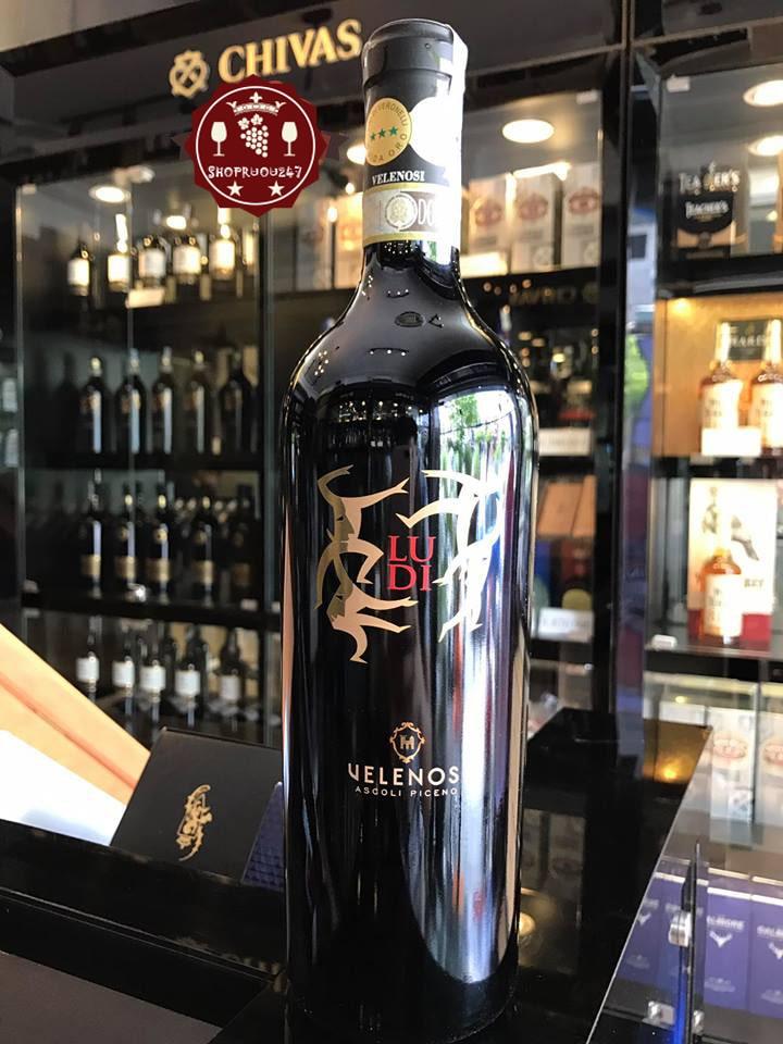 Rượu vang Ludi Velenosi Marche tại Hà Nội giá rẻ - Shop rượu 247