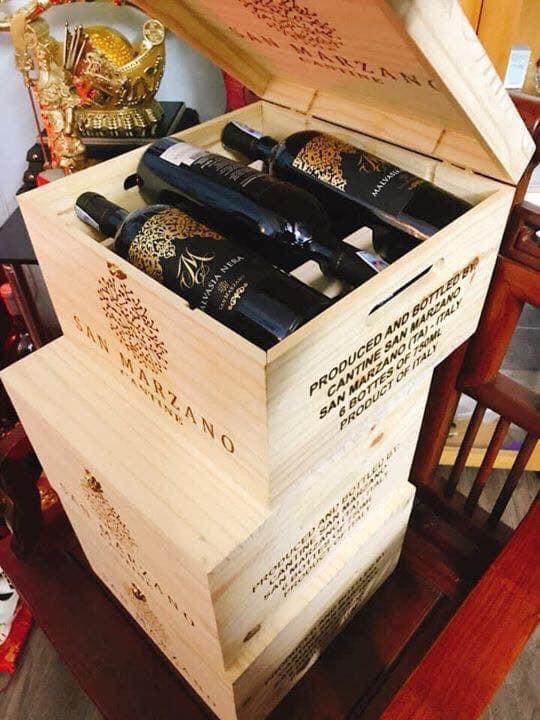 Rượu vang m malvasia nera tại Huế giá tốt nhất - Shop rượu 247