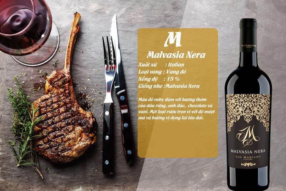 Rượu vang m malvasia nera tại Nghệ An giá tốt nhất - Shop rượu 247