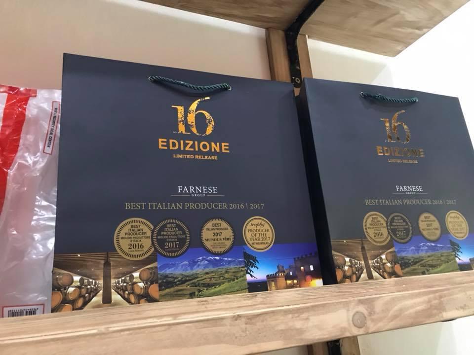 Nhập khẩu rượu vang Ý 16 Edizione Limited Release tại Bắc Ninh giá tốt nhất
