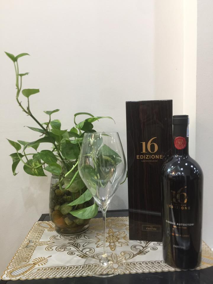 Nhập khẩu rượu vang Ý 16 Edizione Limited Release tại Hạ Long giá tốt nhất