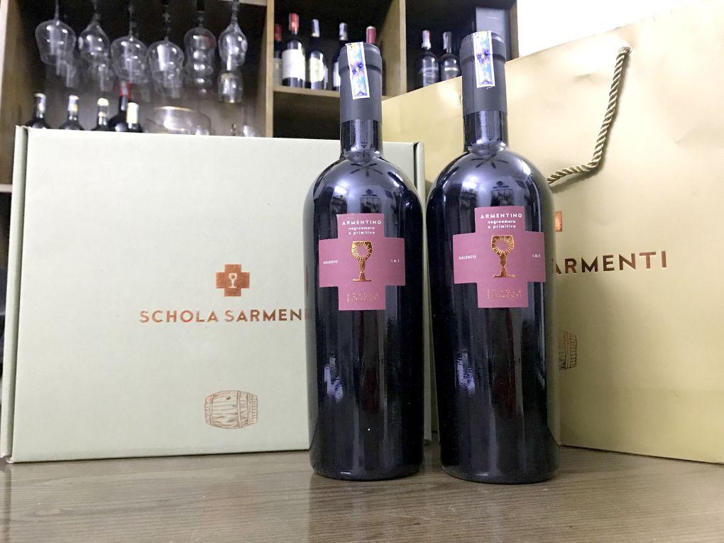Rượu Vang Ý Armentino Chén thánh giá ưu đãi tại Thái Nguyên - Shop rượu 247