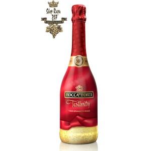 Rượu Vang Ý Rocca Dei Forti Festivity có màu đỏ đẹp mắt. Hương vị ngọt ngào ấn tượng từ sự pha trộn hoàn hảo của 2 giống nho Malvasia, Moscate Bianco