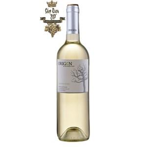 Rượu Vang Chile Origen Classico Sauvignon Blanc có màu vàng tươi sang với phản xạ xanh. Hương thơm của các loại hoa quả