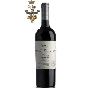 Rượu Vang Chile Yali Gran Reserva Cabernet Sauvignon có mầu đỏ ruby đậm. Hương thơm của trái cây mầu đỏ như nho đen, anh đào