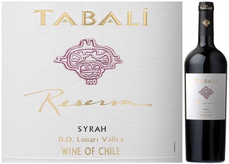 Rượu Vang Chile Đỏ Tabali Reserva Syrah có mầu đỏ đậm. Trong vòm miệng với hương thơm của mận và hương vị anh đào đen, thanh lịch
