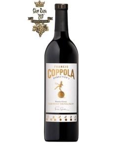 Vang Đỏ Coppola Director's Cabernet Sauvignon có mầu đỏ anh đào.Nó cung cấp một hương vị trái cây chín