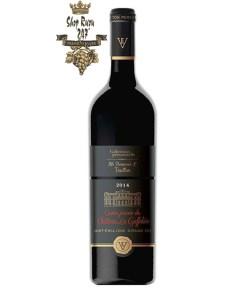 Rượu Vang Đỏ Cuvee Privee Du Chateau La Gaffeliere có mầu đỏ ruby đậm. Hương thơm của các loại trái cây đen, anh đào