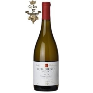Rutherford Ranch Napa Valley Chardonnay có mầu vàng chanh nhạt. Hương thơm tinh tế của mơ, mận, anh đào và dứa.
